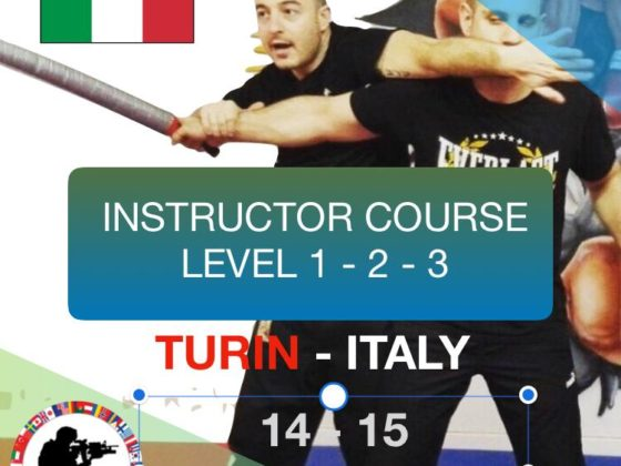 Israeli Ju-Jitsu Krav Maga Instructor Course Turin 14-15 December 2019