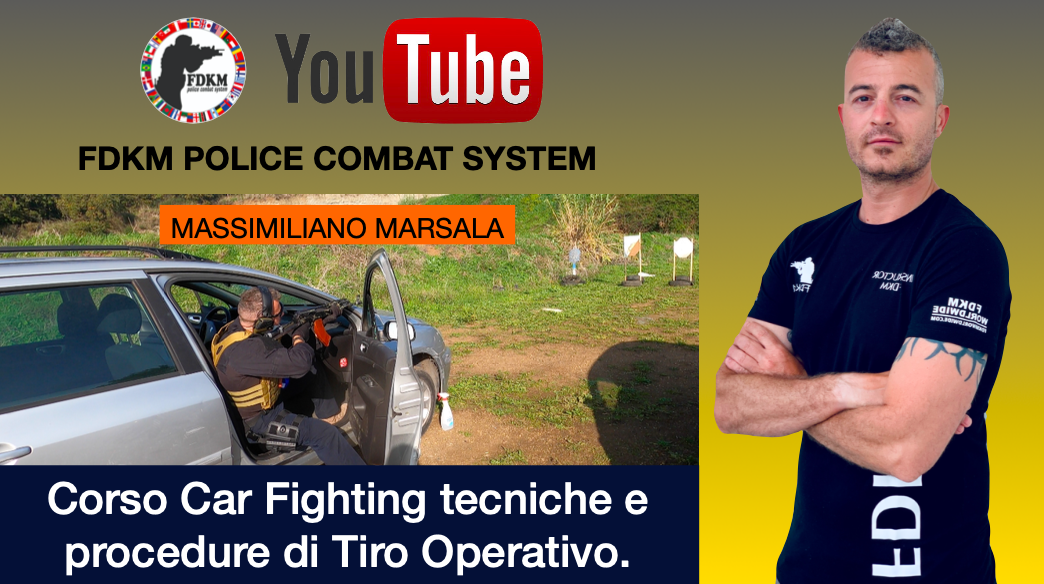Corso Car Fighting tecniche e procedure di Tiro Operativo.